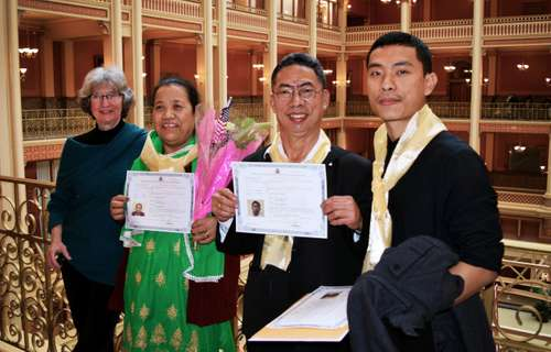 First Bhutanese Refugees In Madison